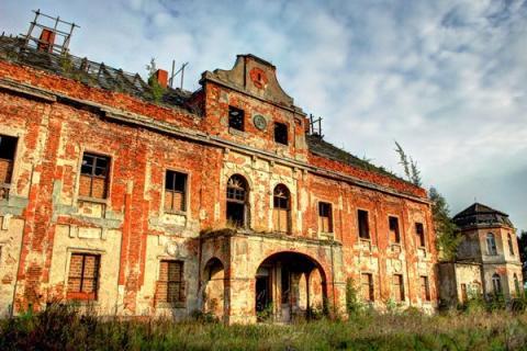Sucha Dolna pałac Poland
