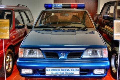 Museum in Chlewiska: cars