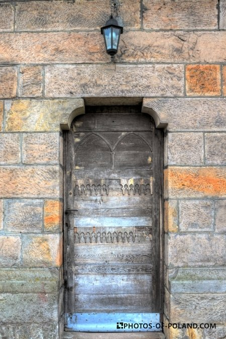 Bliżyn: Church St. Louis from 1896