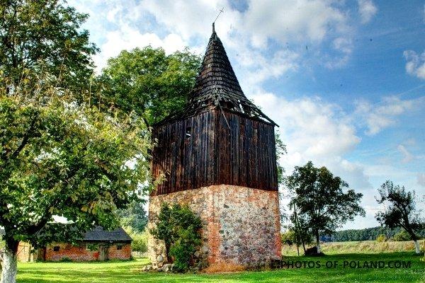 Stara Jabłona - belfry