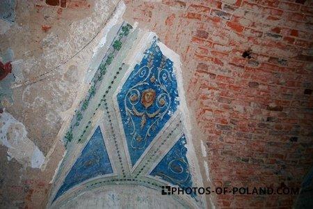Pałac w Suchej Dolnej: Wnętrze