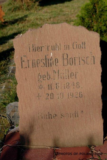 Złotnik: cmentarz niemiecki