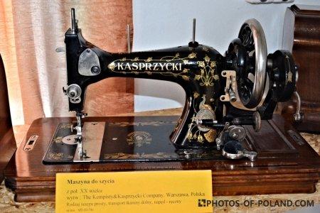 Maszyna do szycia: Kasprzycki z połowy XX wieku