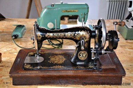 Maszyna do szycia: Naumann z lat 30-tych XX wieku