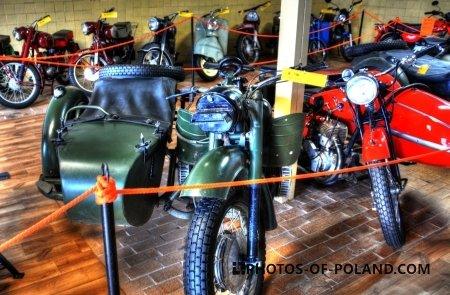 Chlewiska: Motorisation museum K-750  1965