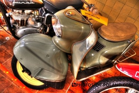 Chlewiska: Motorisation museum WFM M52 Osa 1963