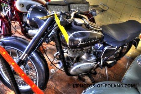 Chlewiska: Motorisation museum: Junak M10