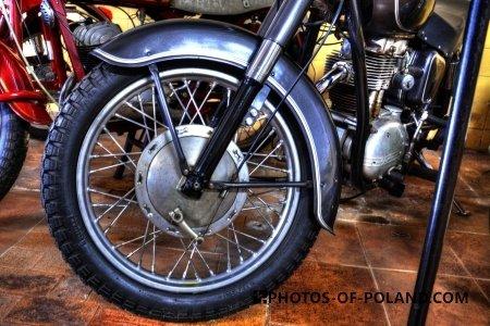 Chlewiska: Motorisation museum: Junak M10 1961
