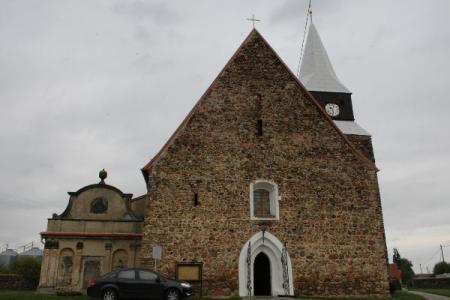 Church in Gościeszowice Poland
